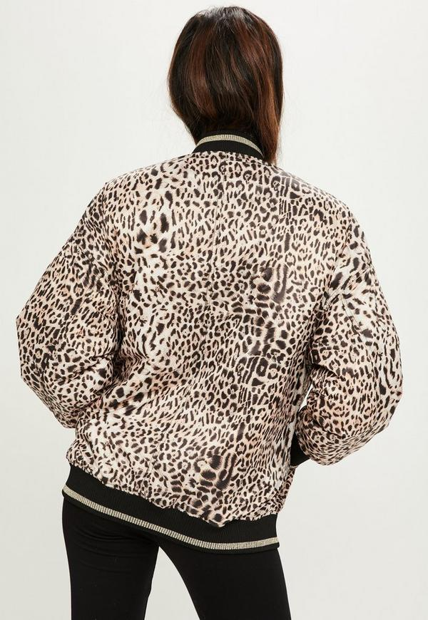 Collarless flap pocket leopard printed outerwear wholesale retro
