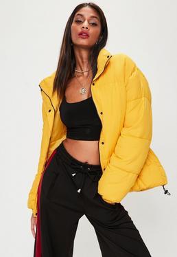 Yellow Ultimate Oversized Puffer Jacket