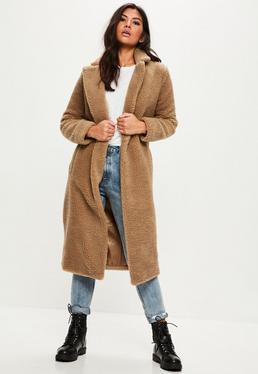 Tan Borg Teddy Coat