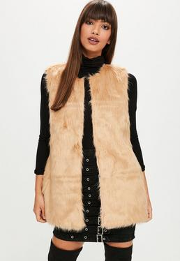 Nude Ultimate Faux Fur Gilet