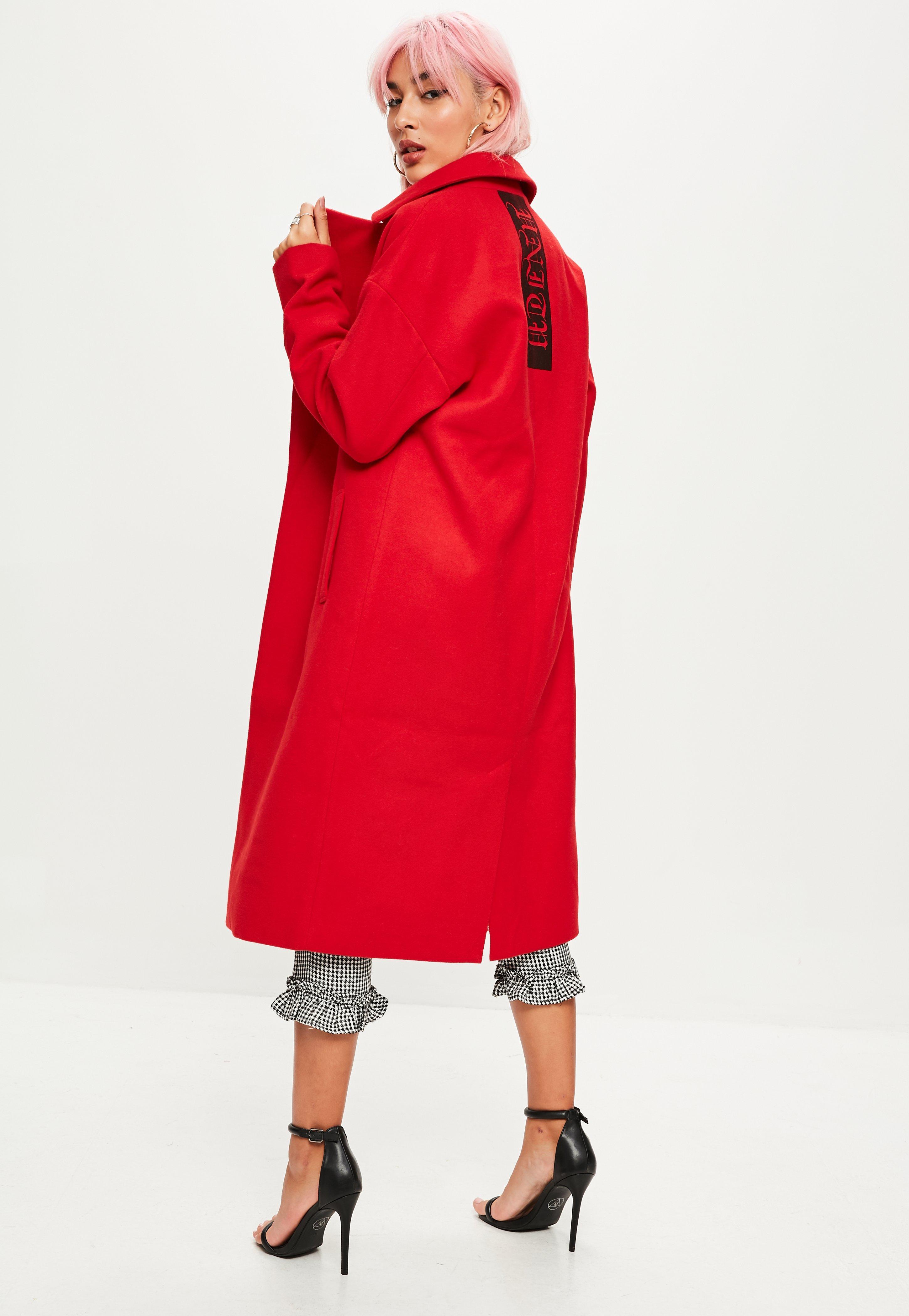 Women's Wool Coats | Missguided