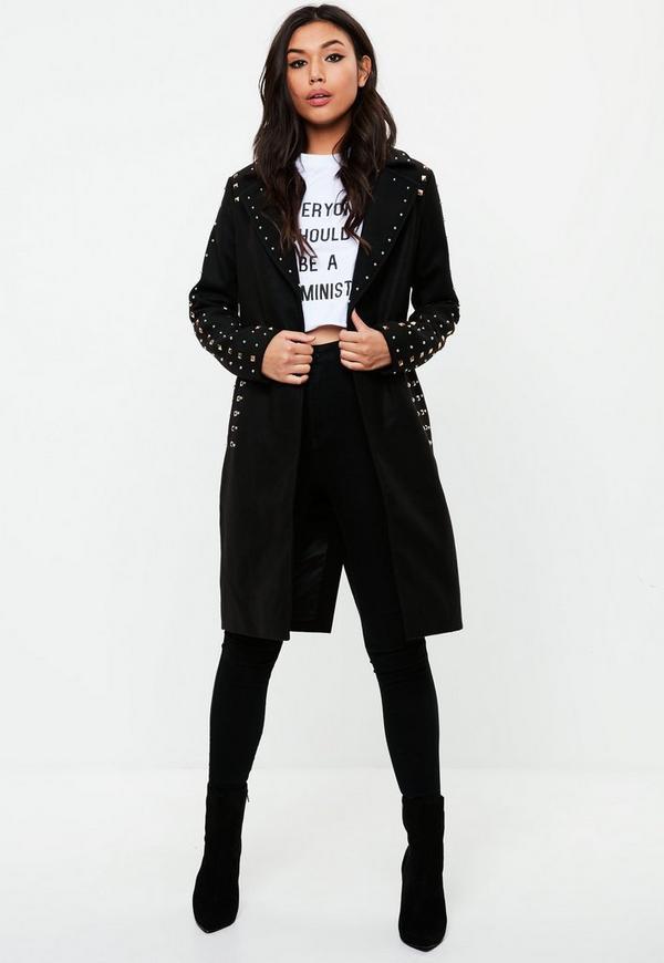Black trench coat ireland