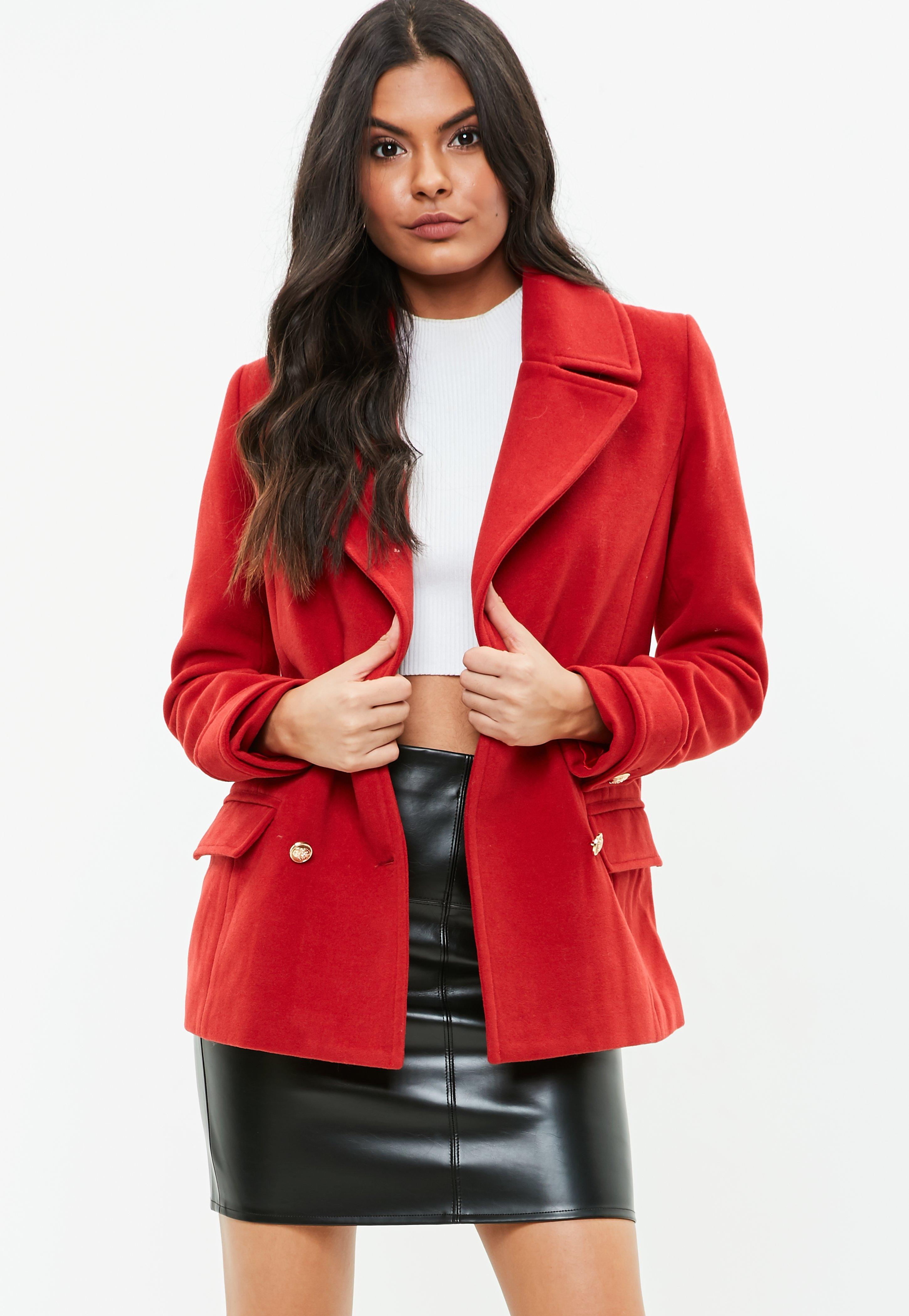 Missguided Military Peacoat Jacket Largest Supplier Cheap Price Fast Express JLIKjZ