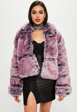 Carli Bybel x Missguided Pink Puffer Jacket