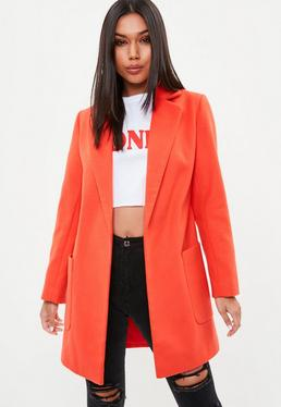 Red Slim Coat