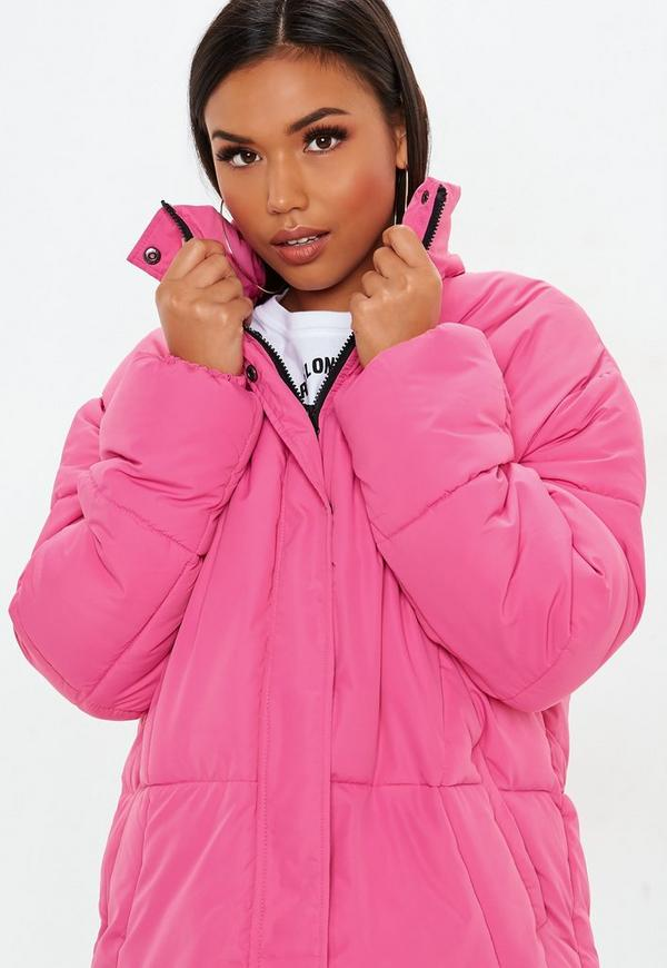 2648a8173c57e ... Pink Ultimate Oversized Padded Jacket. Previous Next