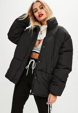 Black Ultimate Oversized Padded Jacket