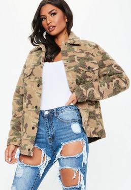 79d4da9df848d Khaki Coats | Khaki Green Jackets - Missguided