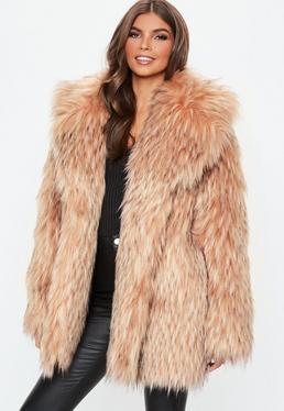 697dedfd7744 Fur Collar Coats