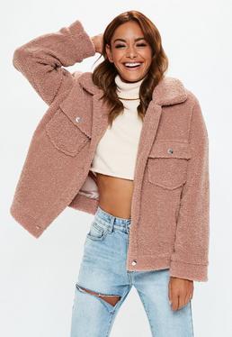 44555131 Teddy Coats | Borg Jackets & Fluffy Coats - Missguided