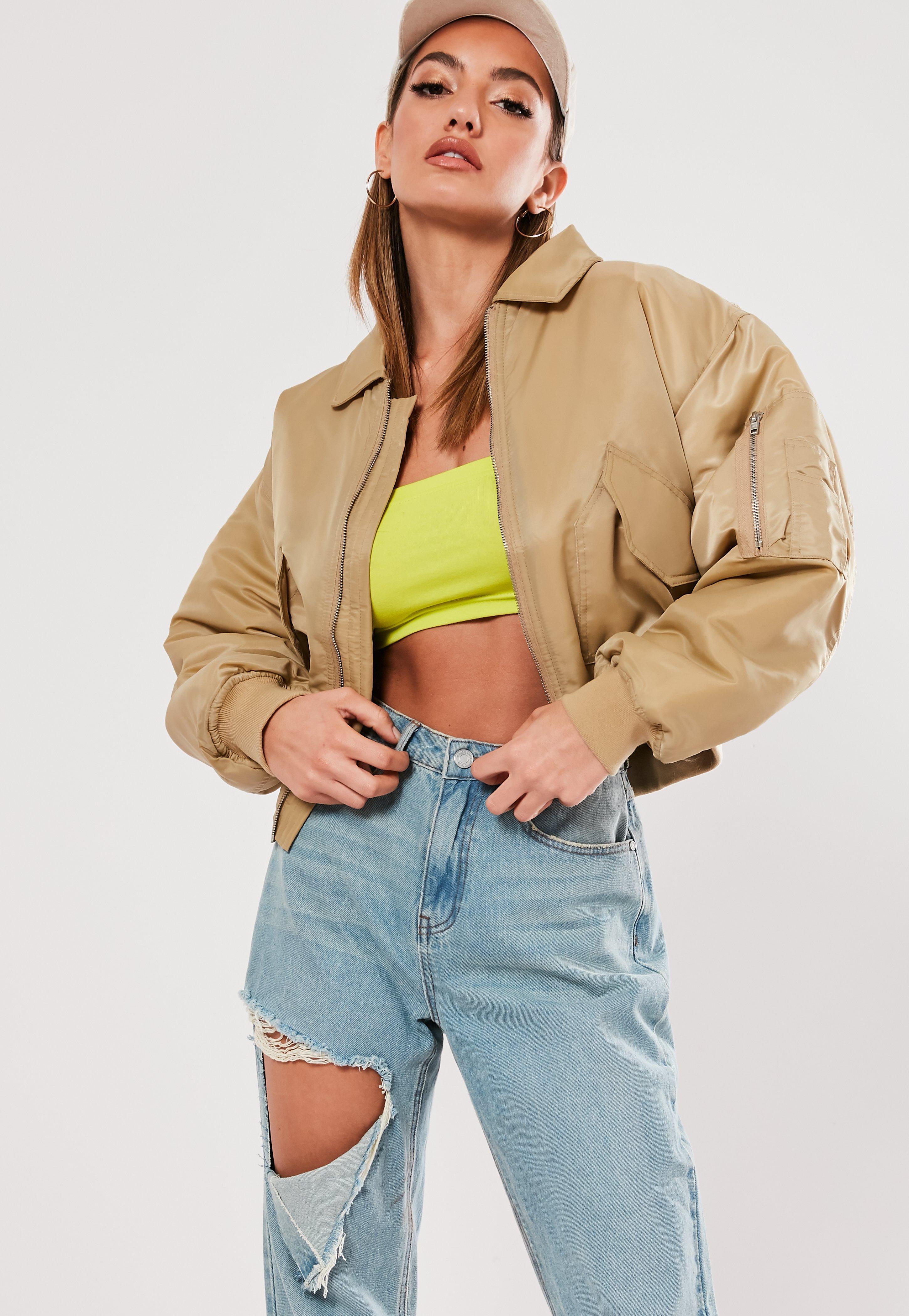 a0af7208d premium padded utility bomber jacket