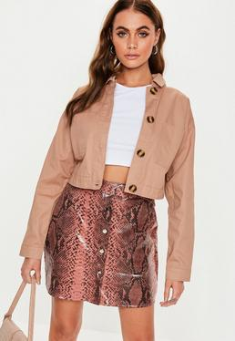 420bde027 Beige Coats & Jackets | Nude Coats | Missguided