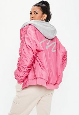 67e8a5ef6 Bomber Jacket | Women's Black Bomber Jacket | Missguided