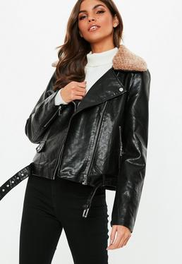 d5c03ded6 Faux Leather Jackets | Women's Leather Jackets - Missguided