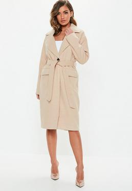 a8d7866e33 Womens Double Breasted Coats and Jackets - Missguided