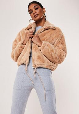 a74677995 Bomber Jackets - Women's Satin Bomber Jackets | Missguided