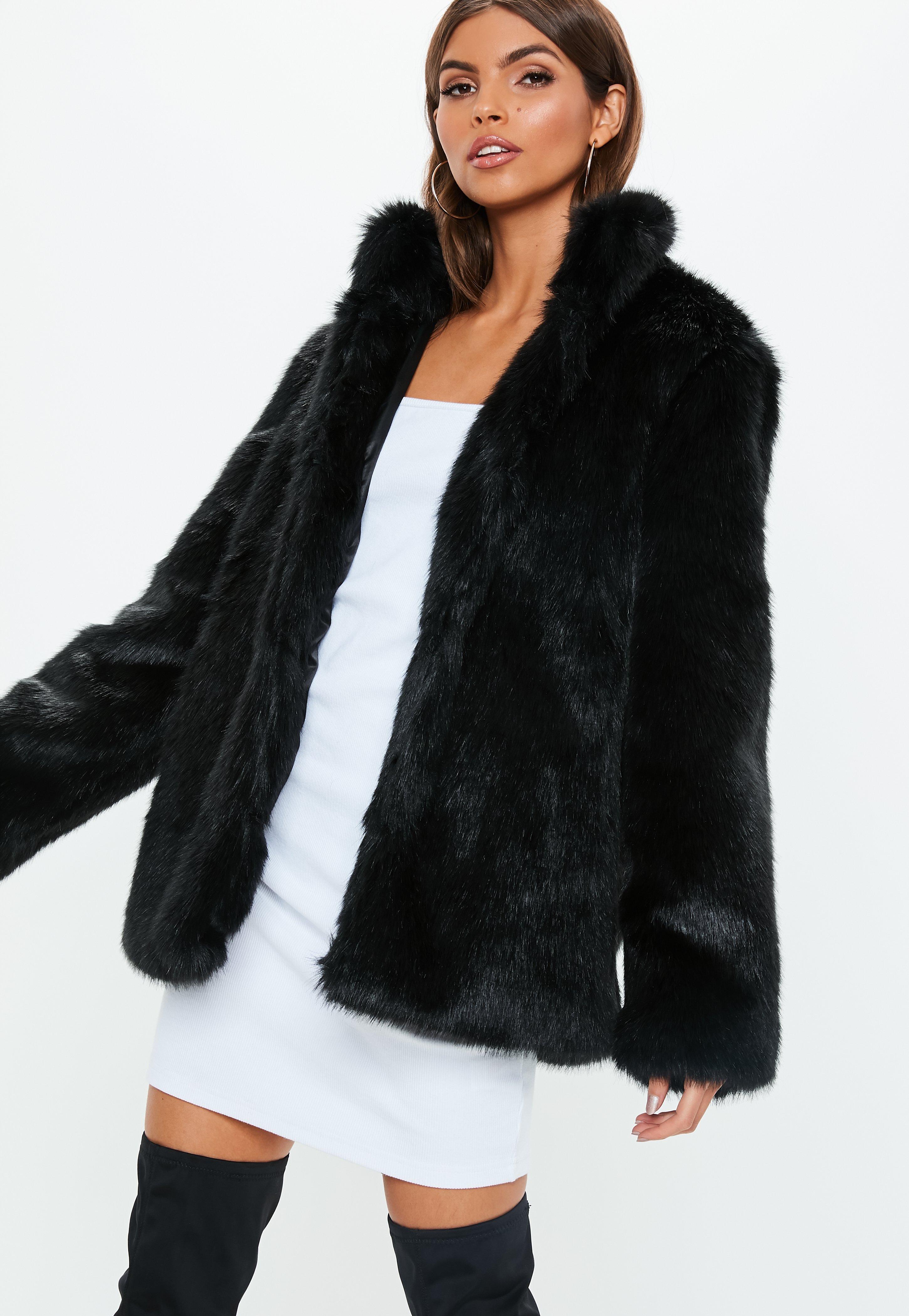 5e45e6c4e4a28 Faux Fur Coats
