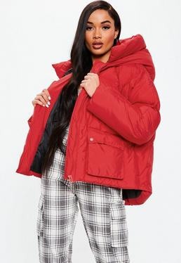 1bf07ec67772 Red Coats   Burgundy & Maroon Jackets - Missguided