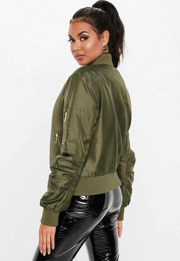 29b24ebf3ef ... Khaki Ultimate MA1 Bomber Jacket. Previous Next