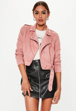c9a583f4e80a Suede Jackets | Women's Faux Suede Coats - Missguided