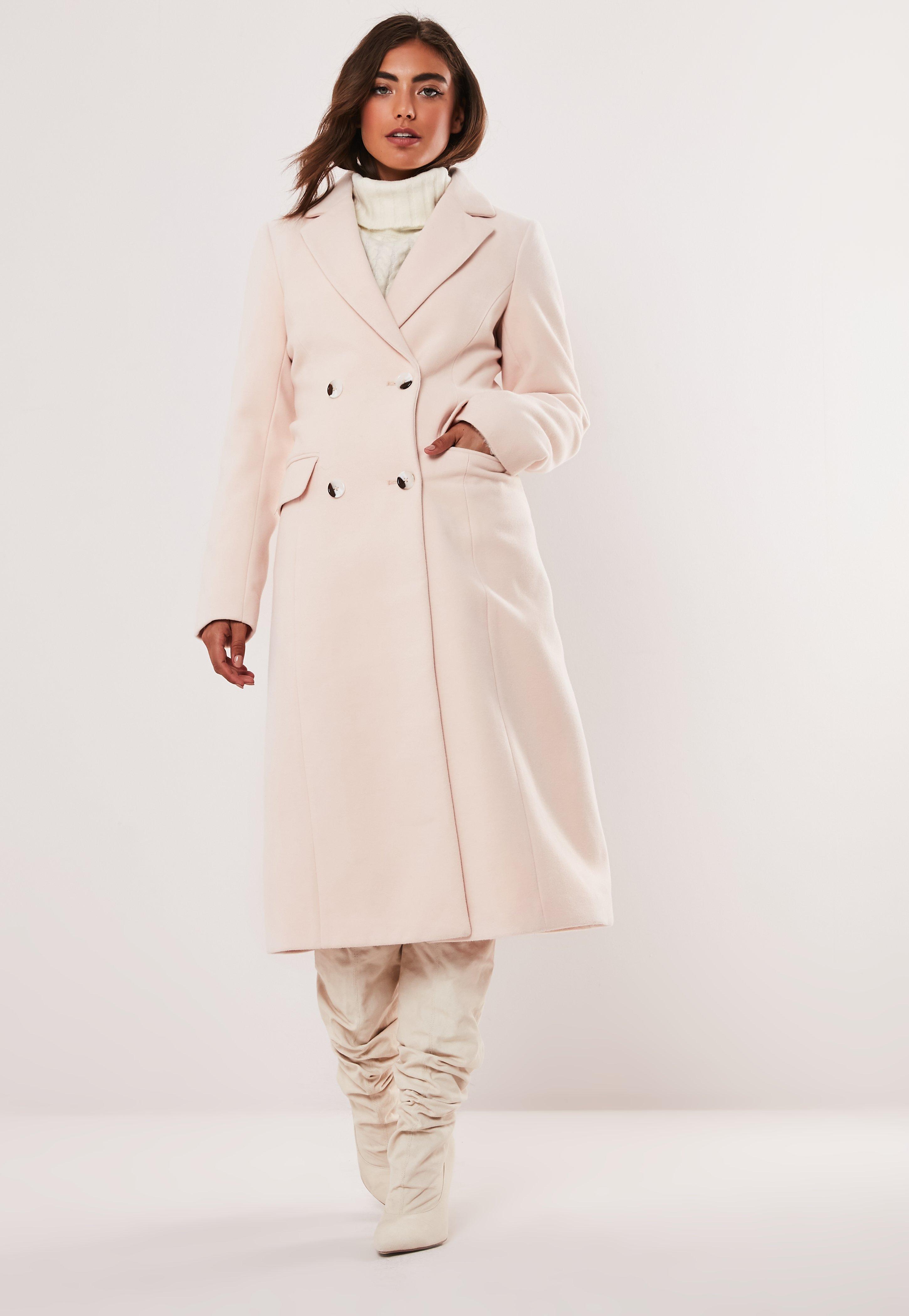cf6d26726c1 Nude Maxi Formal Coat