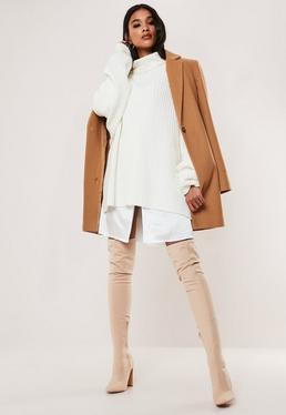 Camel Formal Coat