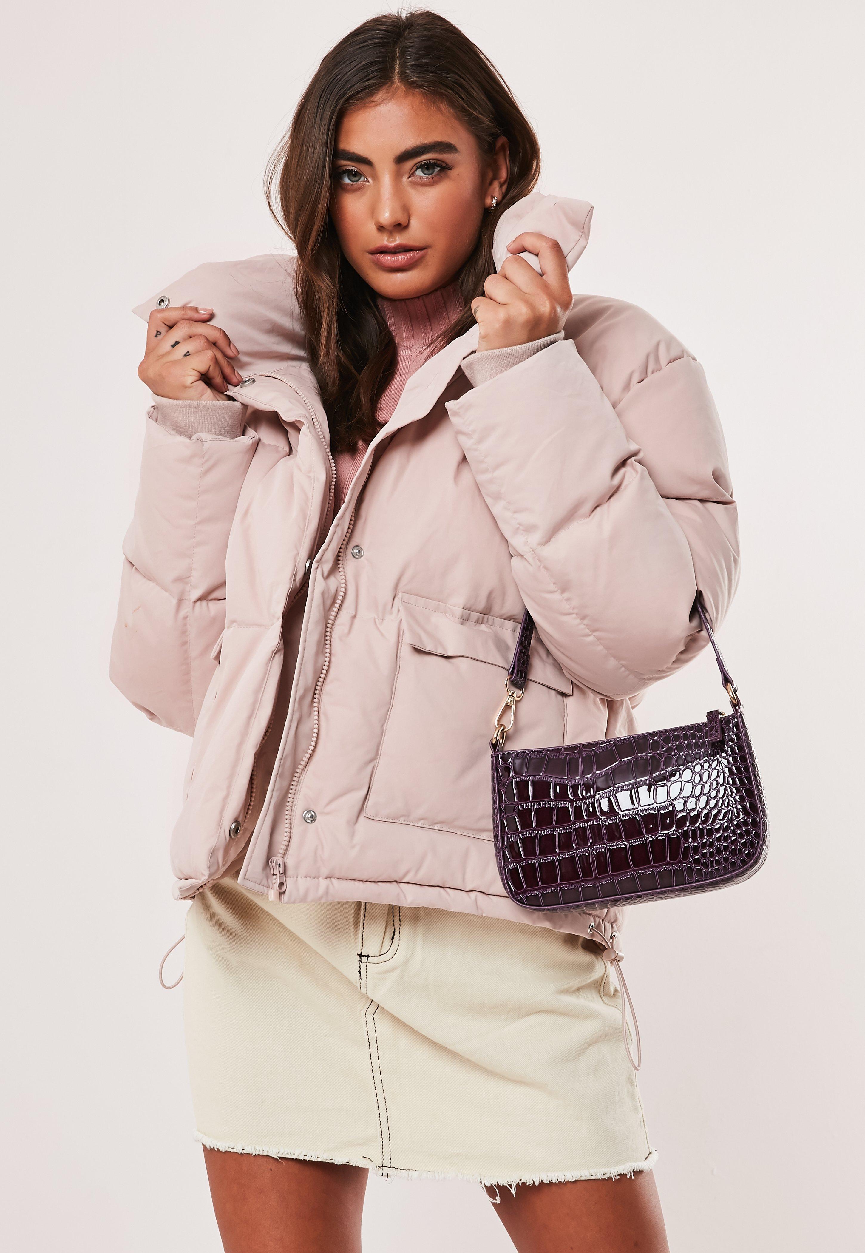 f8336e88c Baby Pink Puffer Jacket