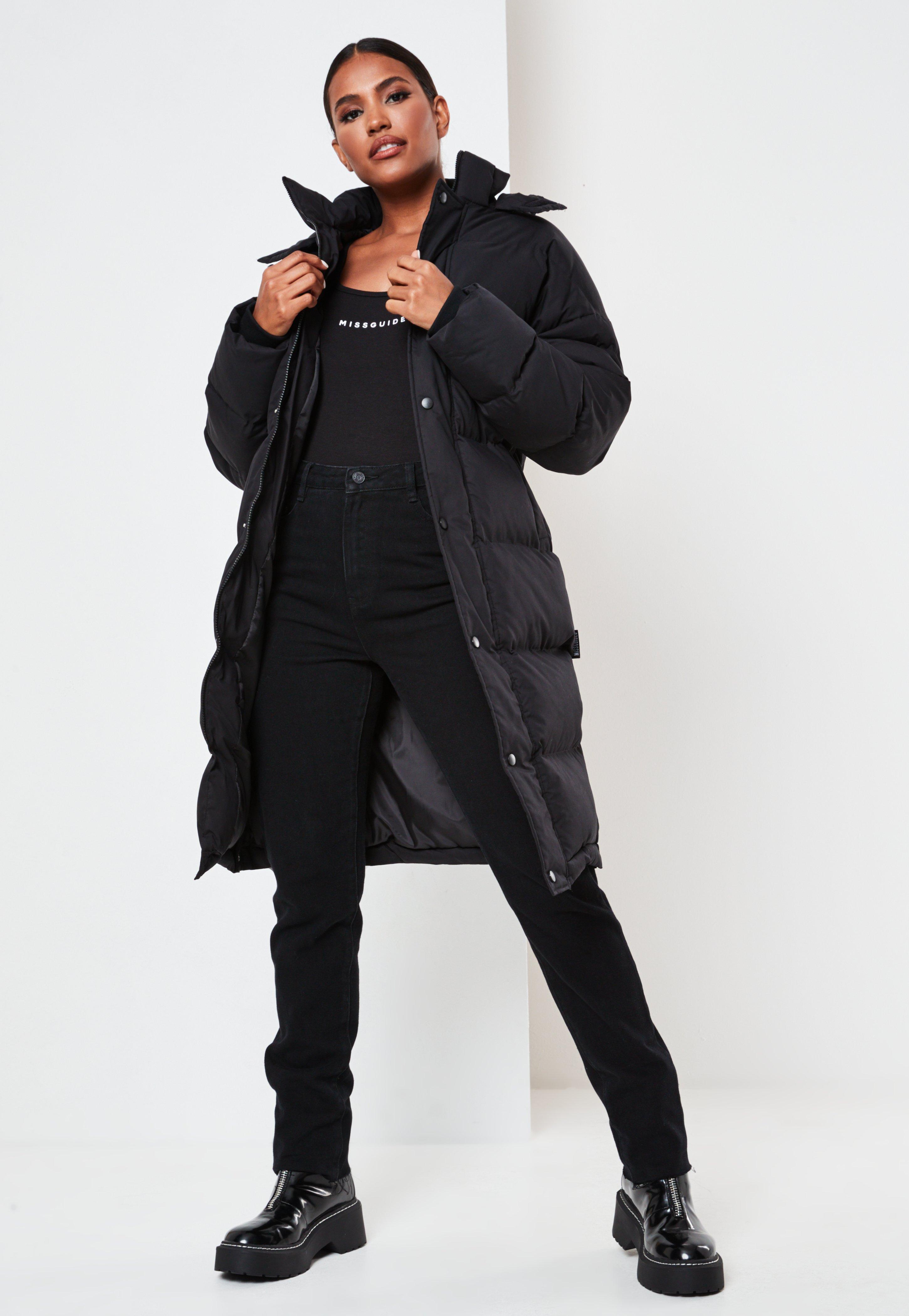 Sage Longline Padded Oversized Puffer Coat