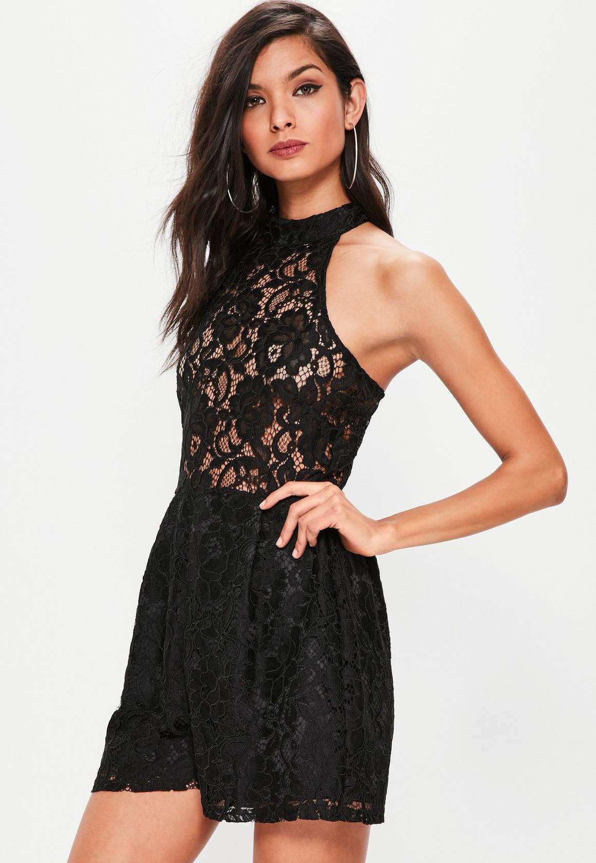 Black dress romper - Previous Next