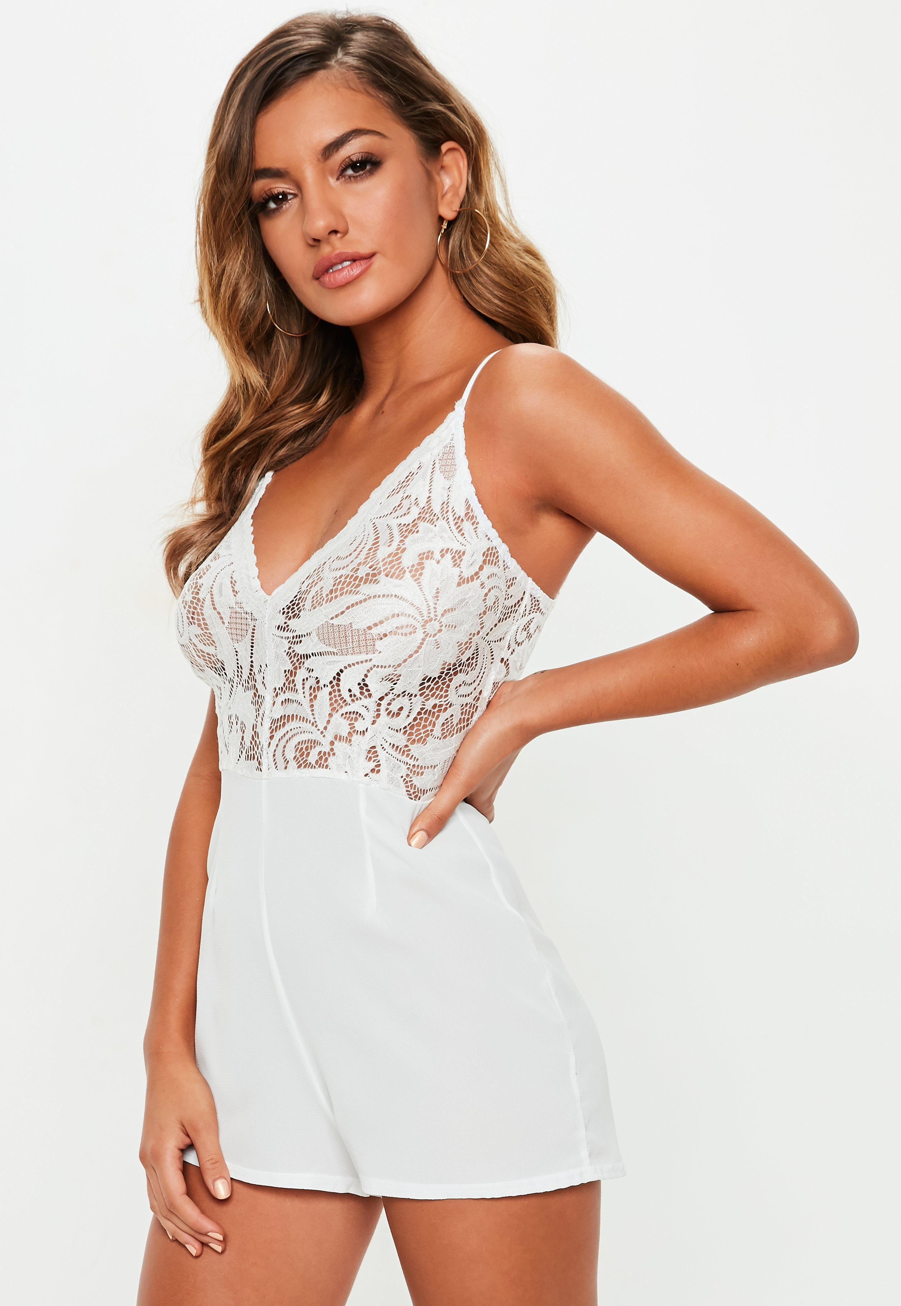 ba01abac3d12 White Rompers