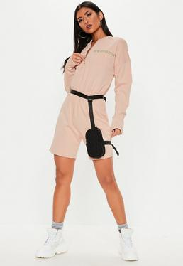 5464f7b27753 ... Nude New Generation Zip Front Playsuit