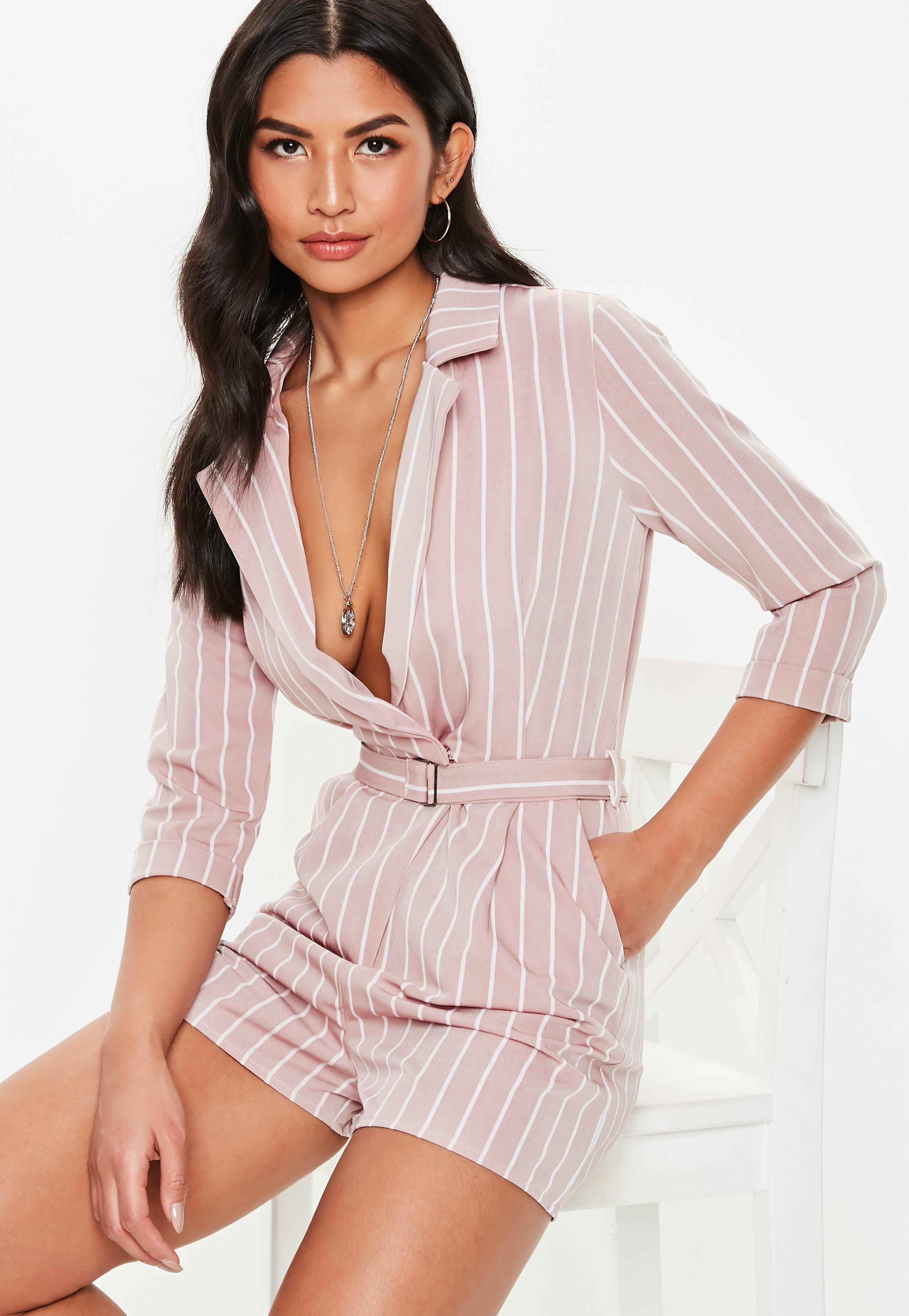 976d4b38c2a0 Long Sleeve Playsuits - Missguided