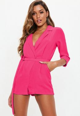 0cd9cfe466c Nude Jumpsuits · Belted Blazers