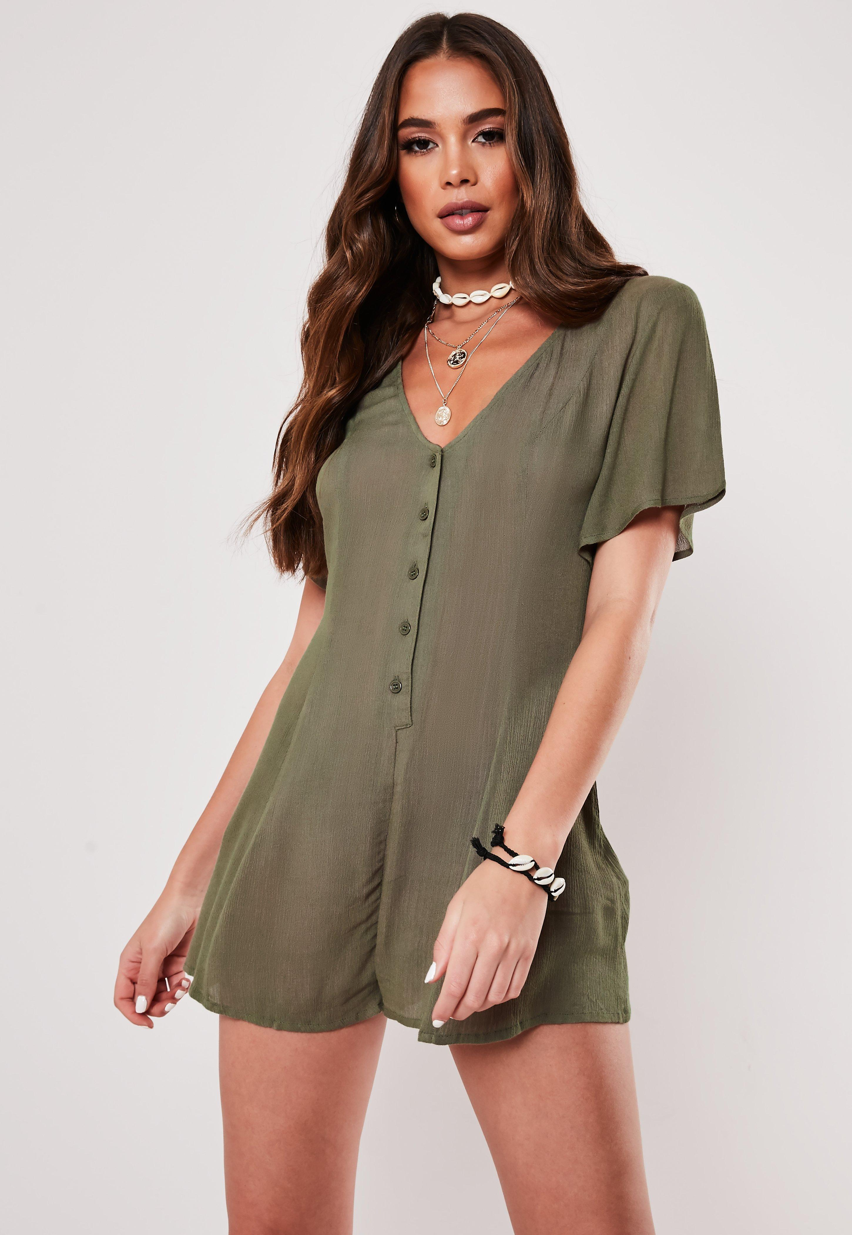 c7397c20 Rompers for Women - off the Shoulder Rompers 2019 | Missguided