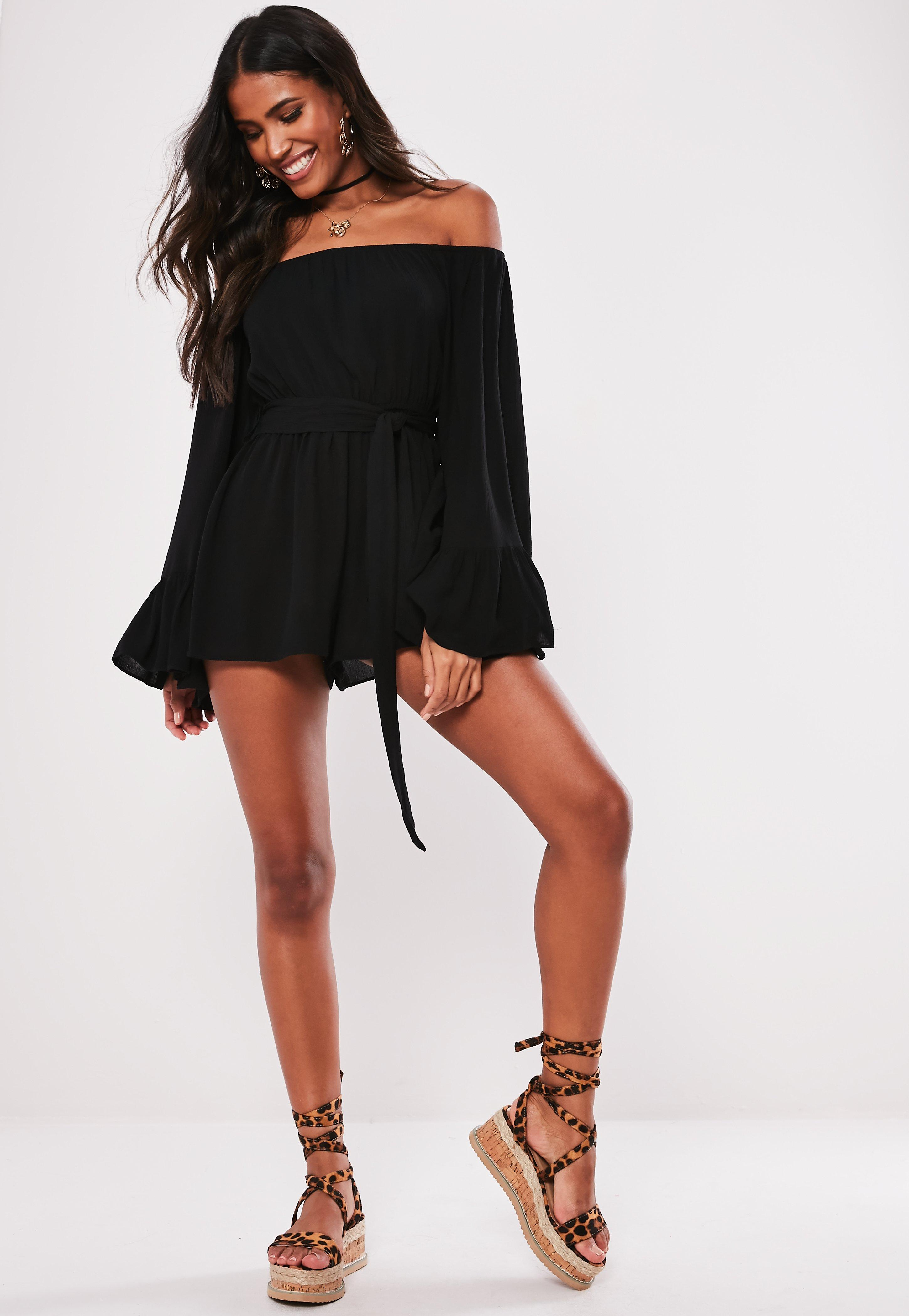 2665a4f43f27 Playsuits | Women's White & Black Playsuits | Missguided
