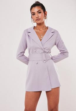 Серый пиджак с поясом