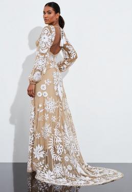 Платье макси с цветочным принтом Peace + Love