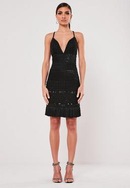 Robes A Franges Robe Avec Ourlets A Franges Missguided
