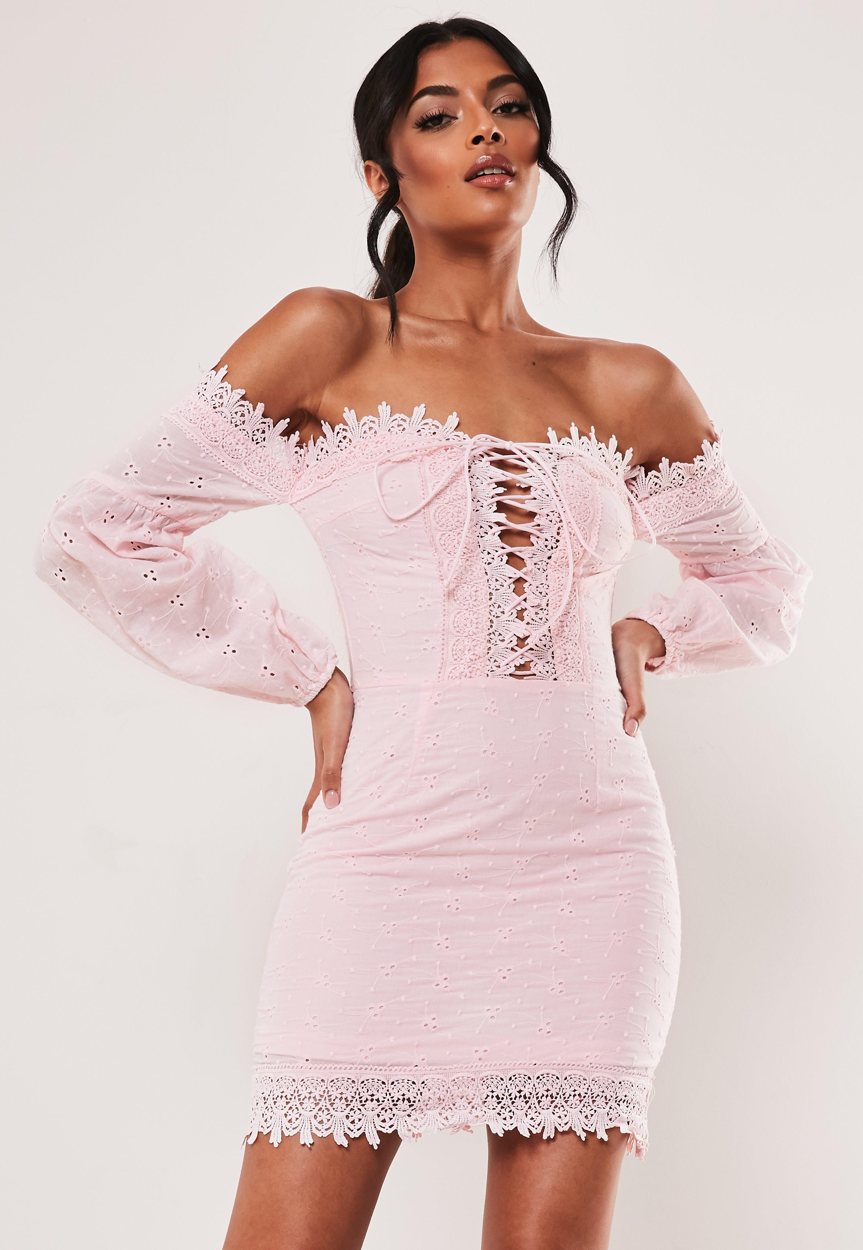 f7ad3df4d09d Bardot Dresses | Off The Shoulder Dresses - Missguided