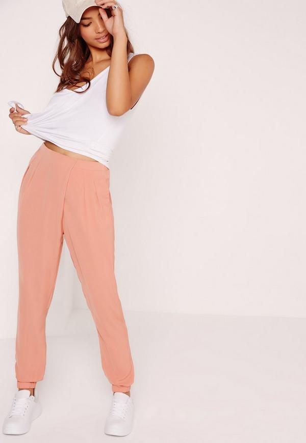 Formal Joggers Pink