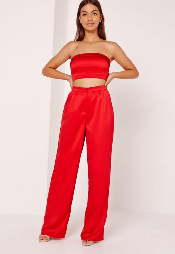 Shop for red wide leg pants online at Target. Free shipping on purchases over $35 and save 5% every day with your Target REDcard.