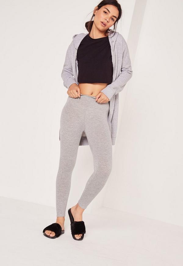 Full Length Leggings Grey