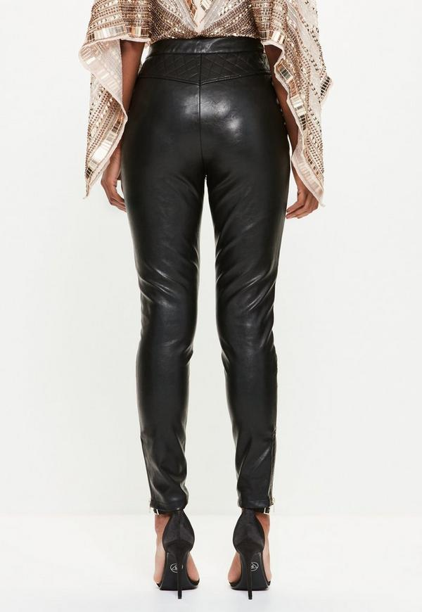 Leather Trousers Uk 17