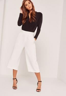 Jupe-culotte blanche Premium