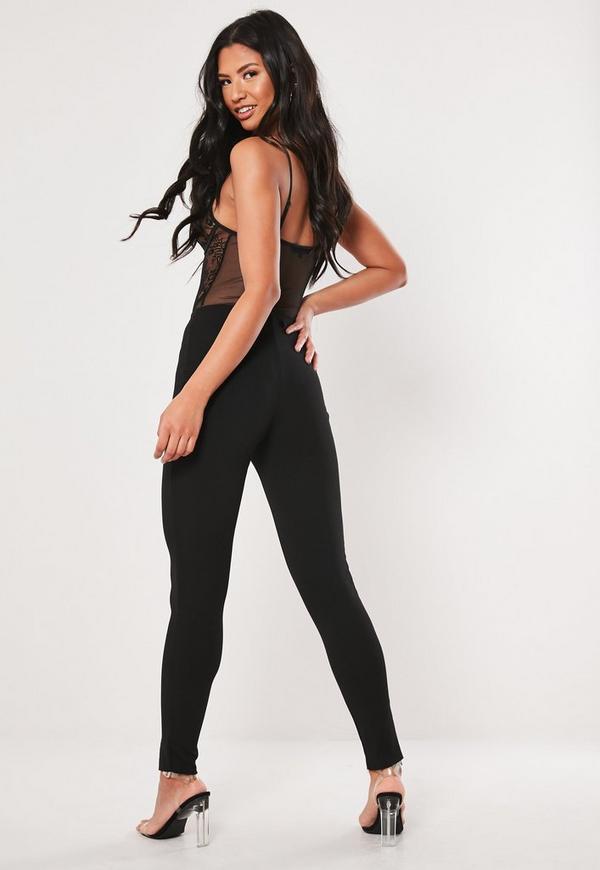 165a55b08ad69 Black Skinny Fit Cigarette Trouser. Previous Next