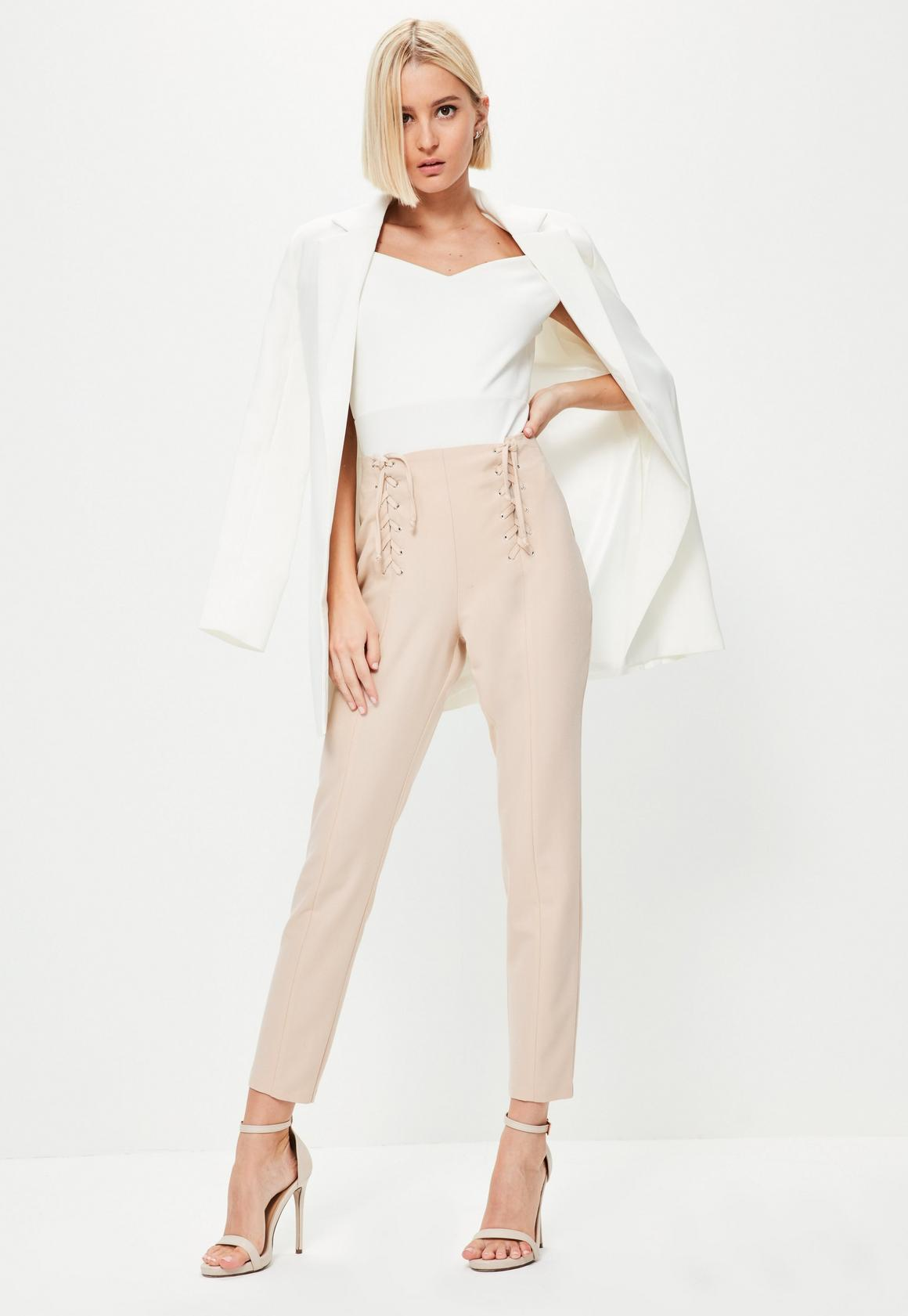Women's High Waisted Pants | Missguided
