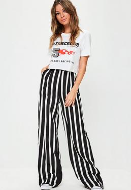 Wide Leg Pants- Palazzo & Loose Fit Pants Online | Missguided
