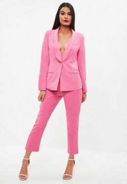 Pink Skinny Cigarette Pants