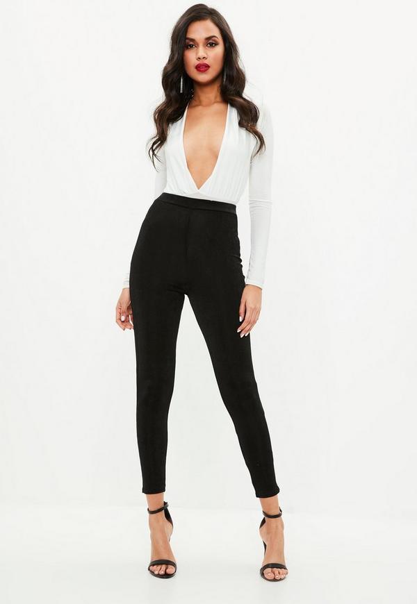 optimizings.cf bietet eine Auswahl an Trendmode für Damenmode an. Schwarze Vice High Waisted Lace Up Skinny Jeans 2ND - Schwarze Jeans - Mode Jeans (G) [Hose 1RK].