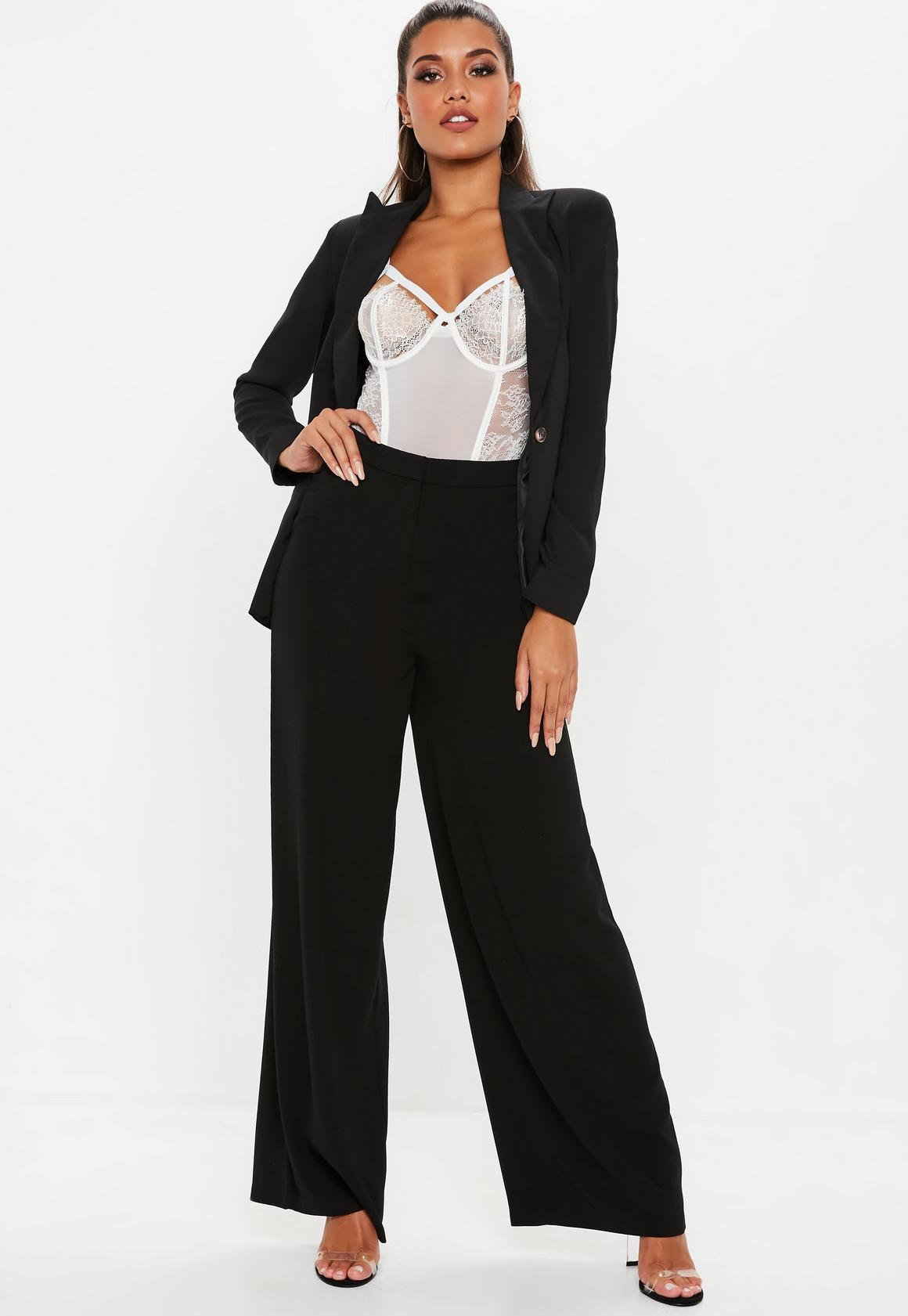 best service buying cheap coupon codes Missguided Wide Leg Trousers at £12 | love the brands